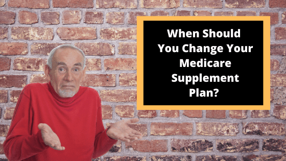 Change Medicare Supplements