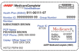 Medicare Advantage Card